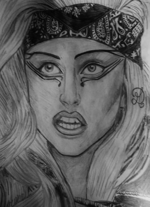 Lady Gaga by MD